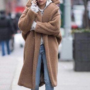 LUXE TEDDY Coat In Camel: The It coat of Winter!